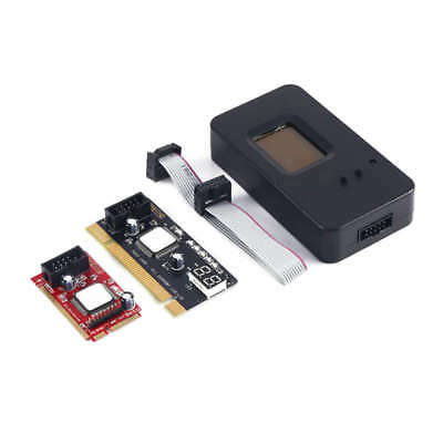 Mini Pci-E Pc Pci Diagnostic Test Tester Pc Debug Post Card For Laptop/Desk U5V0