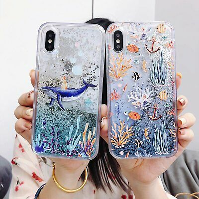 Bling Dynamic Liquid Glitter Quicksand Cute Soft Case Cover For Phone Best Gift
