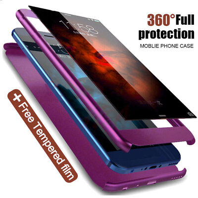 For Samsung Galaxy A9 A7 2018/J4 J6 Plus Case 360 Full Protective Hybrid Cover