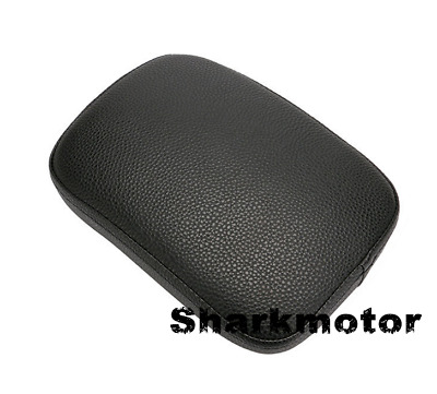 Motorcycle Rear Passenger Cushion 6 Suction Pillion Pad on Seat For Harley