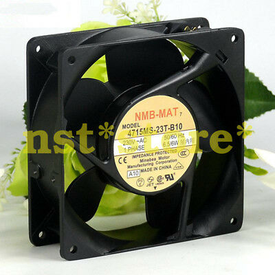 for 1PC NMB-MAT 4715MS-23T-B10 230V 12038 6.5/6W Durable Quiet Cooling Fan