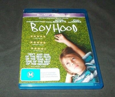 Boyhood Blu Ray Region B Like New