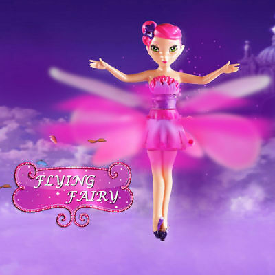 UK Flying Fairy Princess Dolls Magic Infrared Induction Control Toy Xmas Gift_UK
