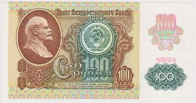 (N21-68) 1961 Russia 100 Roubles bank note (BP)
