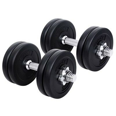 Everfit Dumbbell Set Weight Dumbbells Plates Home Gym Fitness Exercise 15KG @AU