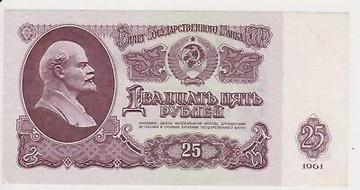 (N19-87) 1961 Russia 10 roubles bank note (CT)