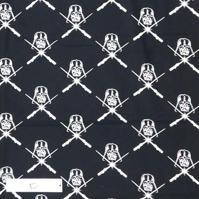 Patchwork Quilting Sewing Fabric STAR WARS DARTH VADER 50x55cm FQ New