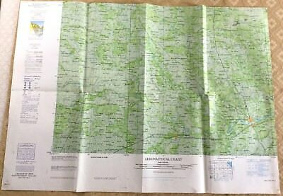 RAF Aeronautical Chart Map War Office Military  Changwat Ubon Thailand