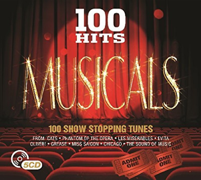 Various Artists-100 Hits - Musicals (UK IMPORT) CD NEW