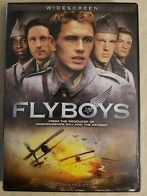 Flyboys (DVD, Widescreen) James Franco    **Combine Shipping!   **Ships FAST!!!