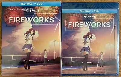New Fireworks Blu Ray Dvd 2 Disc Set + Slipcover Sleeve Free World Wide Shipping