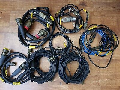 Military Circular Connector With cable Joblot