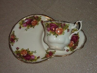 Royal Albert Old Country Roses Tea Cup, Saucer With Plate
