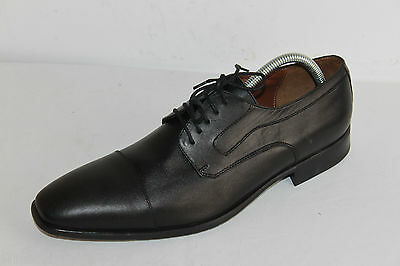 Derby shoes Man Black Leather Double leather T 43.5 TOP CONDITION