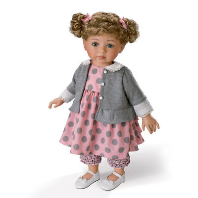Ashton Drake Picture Perfect Avery Hold That Pose Girl Child Doll By Mayra Garza