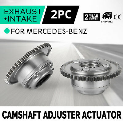 HQ 2x Camshaft Adjuster Actuators For Mercedes W204 C250 SLK250 A2710502947 Work