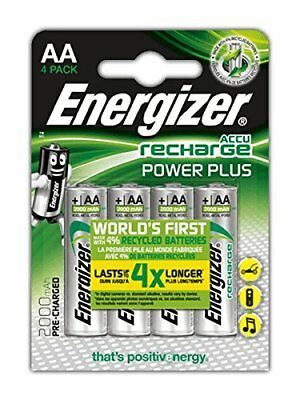 8 Piles AA rechargeables Energizer Recharge Power Plus, 2 packs de 4 *NEUF*