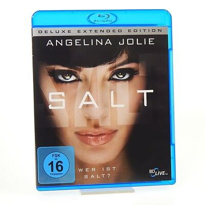 SALT - Deluxe Extended Edition - Angelina Jolie | Blu-ray | Sehr gut | FSK 16