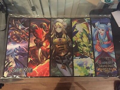 Force of Will 2018 Grand Prix playmat (sealed)