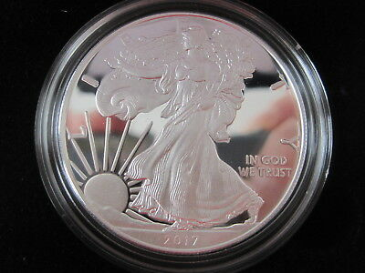 2017 W American Eagles 1 Oz. SILVER PROOF COIN U.S. MINT issued