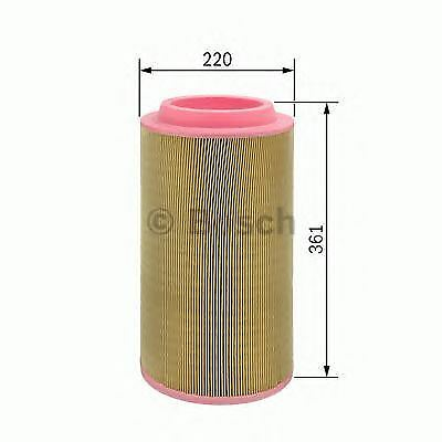 Bosch Engine Air Filter Air Element Oe Quality Replacement 1457433558