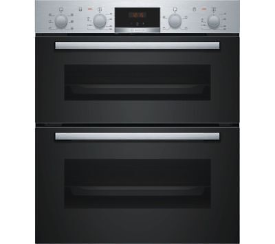 Bosch NBS113BR0B Serie 2 Built Electric Double Oven - Stainless Steel- NEW