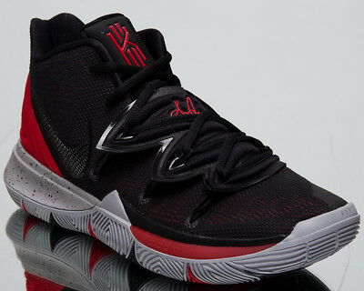 free shipping e5269 40b93 Nike Kyrie 5 Bred New Men's Basketball Shoes University Red Black Mid  AO2918-600