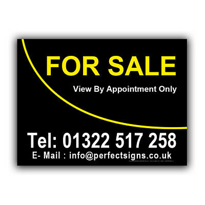 For Sale Correx Sign Printed Boards House Estate Agent Property Signs(CORPP00021