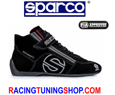 SPARCO RACING SHOES SCHUHE SPEED FIA 8856-2000 - FAST DELIVERY - Größe 46 BLACK
