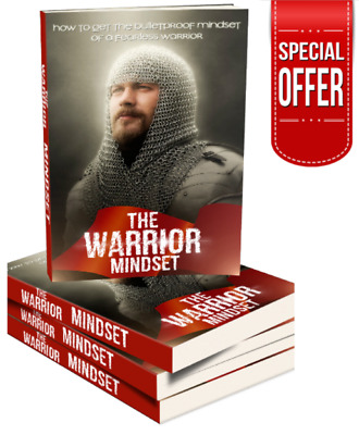 Ebook Warrior Mindset Unleash Inner Fearless Power New PDF Master Resell Rights