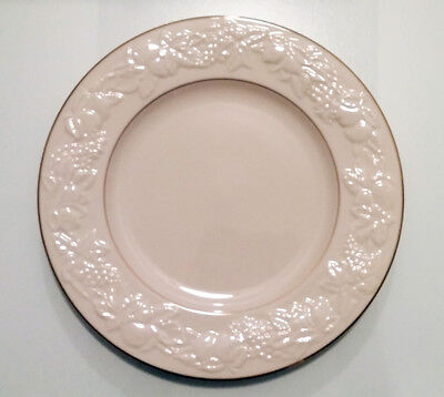 Lenox Fruits of Life China Dinner Plate Gold Trim (Set of 6 plates) 10 3/4 in