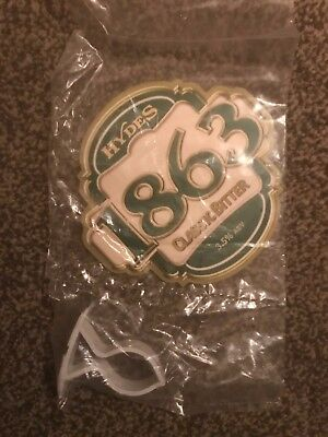 Hydes 1863 Classic Bitter Beer Pump Clip Breweriana Brand New Free Fast P+P
