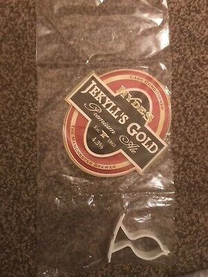 Hydes Jekyll's Gold Beer Pump Clip Breweriana Brand New Free Fast P+P