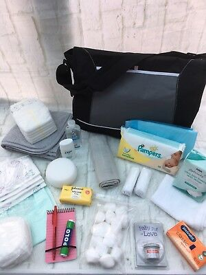 Pre Packaged Maternity/labour/hospital Bag,baby Shower, 21 Items - Free Post
