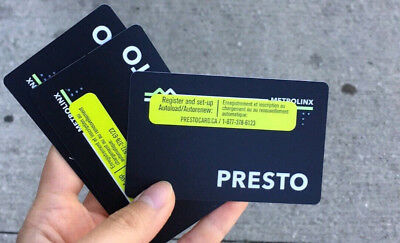 Presto Card Unlimited Taps for 6 Years on TTC Subway/Bus/Streetcar