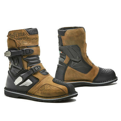 motorcycle boots | Forma Terra Evo Low waterproof adventure dual mid adv riding