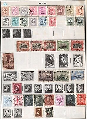 Belgium & Colonies   Lot Of Old Stamps #9X