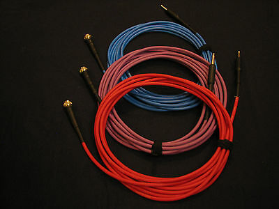 Tone Defender Harp Mic Cable - RED  For JT-30 and other Harmonica Microphones