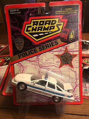 Road Champs Chicago Police Department 1995 Chevy Caprice Police Car 1/43 NIP