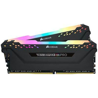 Corsair Vengeance RGB PRO 16GB (2x8GB) DDR4 2666MHz C16 Desktop Gaming Memory