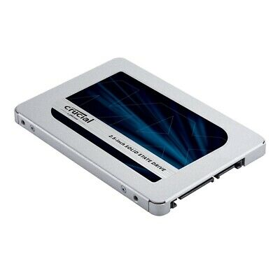 "Crucial MX500 1TB SATA 2.5-inch 7mm (with 9.5mm adapter) 2.5"" Internal SSD"