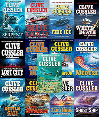 The NUMA FILES Series By Clive Cussler (16 MP3 Audiobook Collection)