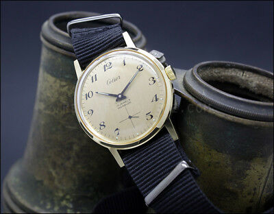 New Old Stock CELIER Army Movement Unitas 6376 vintage watch us military style