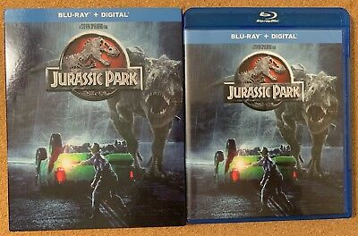 Jurassic Park Blu Ray + Slipcover Sleeve Free World Wide Shipping Buy It Now