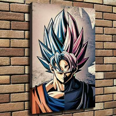 Dragon Ball Goku HD Canvas Print Painting Home Decor room Wall art Picture 24465
