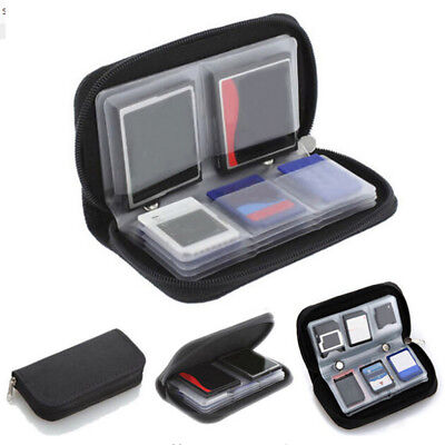 Memory Cards Storage Carrying Case Holder Wallet For CF/SD/SDHC/MS/DS 3DS Game