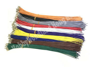 KF2510 2.54mm Connector Female Crimped Contact Pin 26AWG 300mm Color Cable x 100