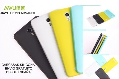 !ultima! Funda Carcasa Case Jiayu S3 Tpu Gel 2 Colores A Elegir Choose One