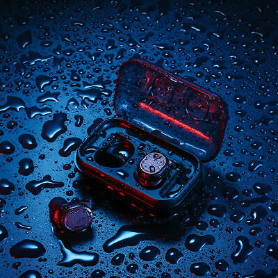 TWS-8 Bluetooth 5.0 Sports Waterproof Ear Hook Wireless Headset earbuds Touch