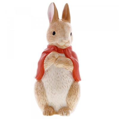 OFFICIAL Beatrix Potter Flopsy Sculpted Money Bank A29293 (NEW)